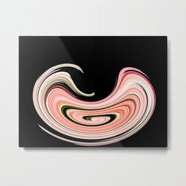 Visual distortion Effect Metal Print
