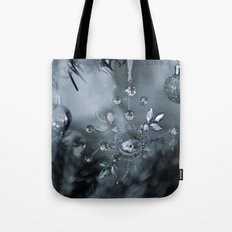 snowflake monochrome Tote Bag