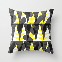 Confetti safari V1 Throw Pillow