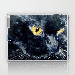 Gus My Big Black Cat Laptop & iPad Skin