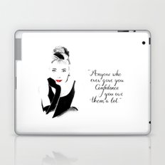 Breakfast at Tiffany's Laptop & iPad Skin