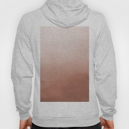 Sherwin Williams Cavern Clay SW7701 Abstract Watercolor Ombre Blend - Gradient Hoody