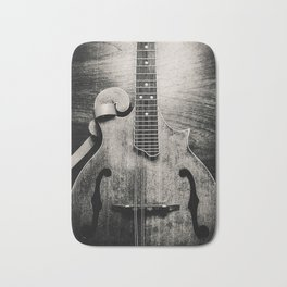 Monochromatic Mandolin Bath Mat