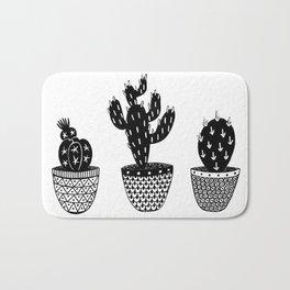 Cactus illustration Bath Mat