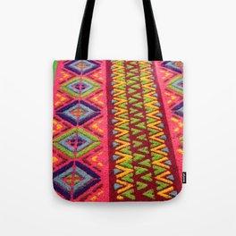 Colorful Guatemalan Alfombra Tote Bag