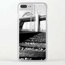 Sixth Street Bridge & Viaduct Clear iPhone Case