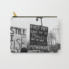 women's march philly Carry-All Pouch