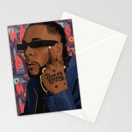 BURNA BOY Stationery Cards
