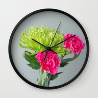 inspiration Wall Clocks featuring Inspiration  by Anchors of Hope Photography