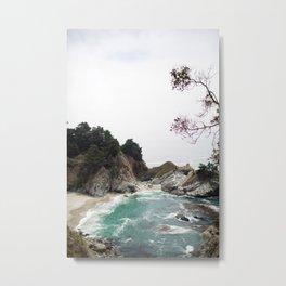 McWay Falls, Big Sur Metal Print