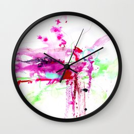 A Mystic Encounter No.1d by Kathy Morton Stanion Wall Clock