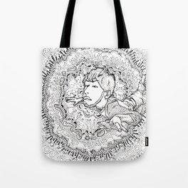 mandala003 Tote Bag