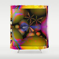 starfish Shower Curtains featuring Starfish by Robin Curtiss