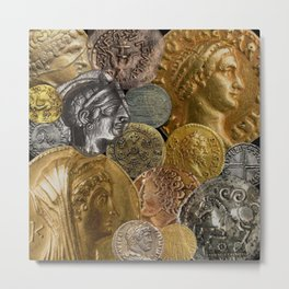 Ancient Coins 2 Metal Print