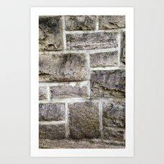Hokie Stone Art Print