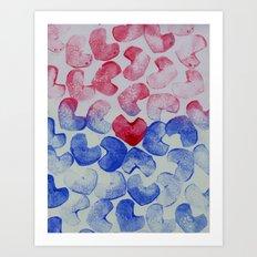 Dropped Art Print