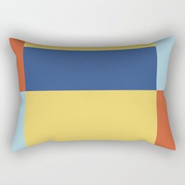 Bauhaus style Rectangular Pillow
