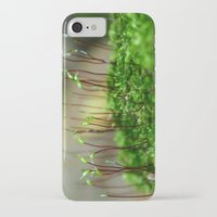 moss iPhone & iPod Cases featuring Moss by 8daysOfTreasures