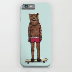 Bear + Skateboard Slim Case iPhone 6s