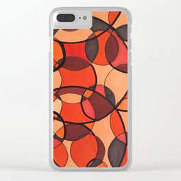 Patterns VG-101 Clear iPhone Case