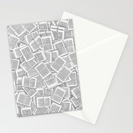 Literary Overload Stationery Cards