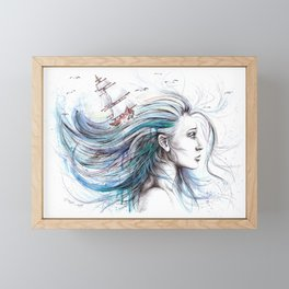 Oceans Framed Mini Art Print