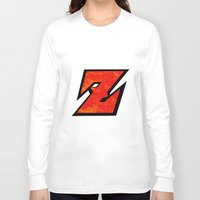 dbz Long Sleeve T-shirts featuring DBZ by Bradley Bailey