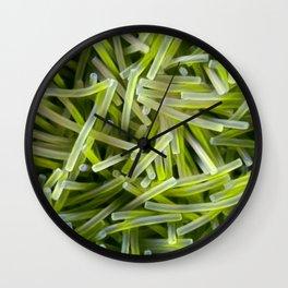 Alien Pasta Wall Clock
