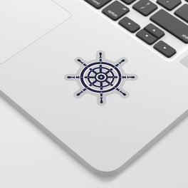 AFE Nautical Helm Wheel Sticker