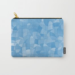 Geometric Shapes Fragments Pattern 2 wb Carry-All Pouch