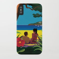 A Shaded Beach iPhone X Slim Case