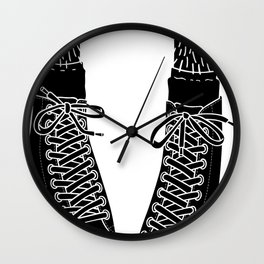 Chuck Feet Wall Clock