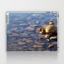 Pebble Stones by the Sea 7738 Laptop & iPad Skin