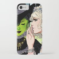 wicked iPhone & iPod Cases featuring Wicked by Natalie Nardozza