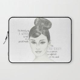 The True Beauty of a Woman Laptop Sleeve