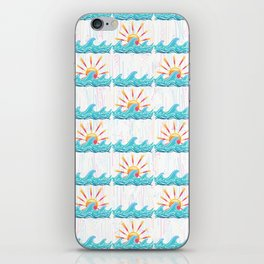 Sunrise Surf iPhone Skin
