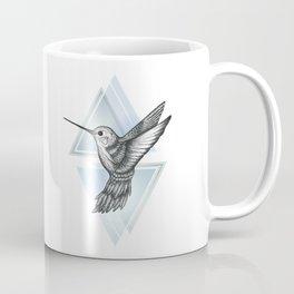 Hummingbird - Blue Coffee Mug