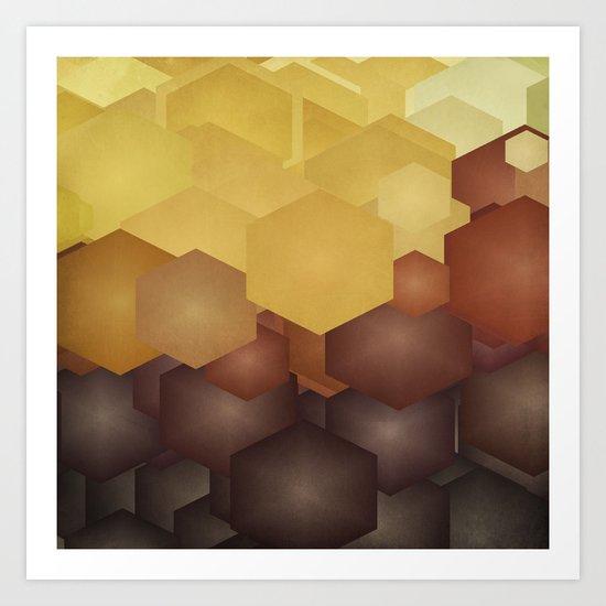 Honey II Art Print