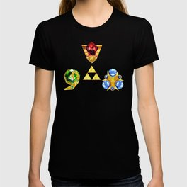 The Timeless Legend of Zelda Inspired Spiritual Stones T-shirt