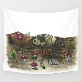 Little Worlds: The Harvest Wall Tapestry