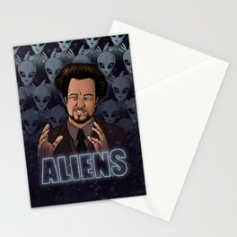 Aliens Guy (Giorgio Tsoukalos) Color Stationery Cards