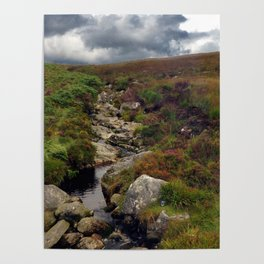 Wicklow Mountains, Republic of Ireland Poster