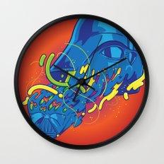 Happily melting Darth Vader Wall Clock
