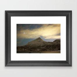 Norwegian mountains 2 Framed Art Print