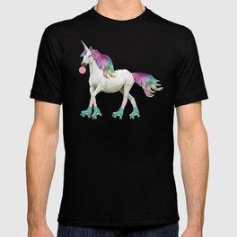 Unicorn On Roller Skates T-shirt