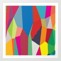dots Art Prints featuring Dots by Joe Van Wetering