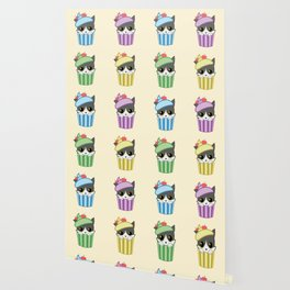cupcake kitty Wallpaper