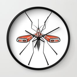 The  Friendly Mosquito Wall Clock