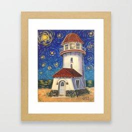 Brigantine Beacon Framed Art Print