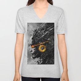 Warrior Angel Unisex V-Neck